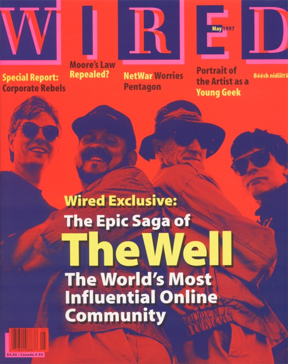 A cover of Wired from 1997